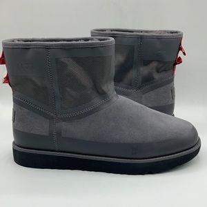 UGG Classic Urban Tech Mini Charcoal Grey Boots